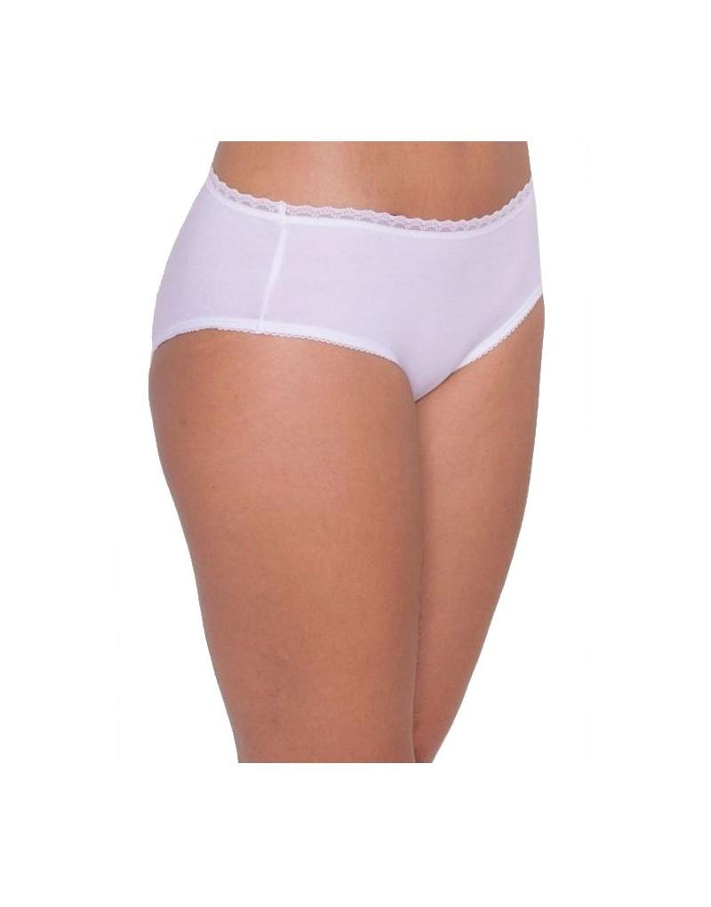Triumph Cotton Essentials Fine Lace Hipster